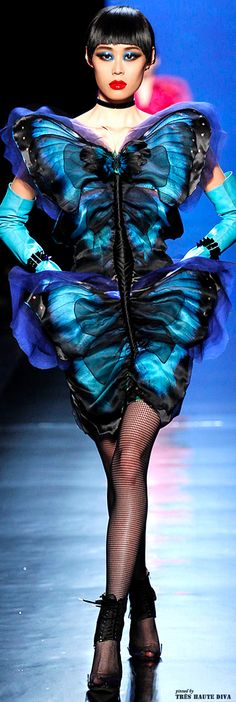 Jean Paul Gaultier Spring 2014 Couture www.vogue.com/...
