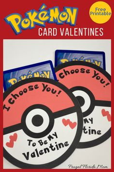 This Pokemon card valentine is super easy to download, print and make with these easy steps. And the only cost is the Pokemon cards to stick inside.
