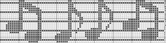 Music graphics for filet crochet charts and patterns Crochet Patterns Filet, Crochet Tunic Pattern, Crochet Lace Edging, Crochet Cross, Thread Crochet, Crochet Doilies, Crochet Stitches, Cross Stitch Patterns, Cross Stitch Music