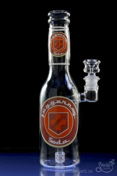 "High Tech Glassworks ""Perk-a-Cola"" Water Pipe - High Tech Glassworks ""Perk-a-Cola"" Water Pipe Weed Pipes, Pipes And Bongs, Call Of Duty Perks, Bottle Bong, Call Of Duty Zombies, Clay Pipes, Glass Water Pipes, Pipe Lighting, Dab Rig"