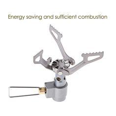Portable Gas Stove Portable Gas Stove, Survival Gear, Save Energy, Gears, Survival, Gear Train
