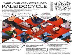 Printable Slugterra Kaleidocycle ~ Free Slugterra Party Printables, and Crafts | SKGaleana #slugterra