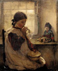 """""""BLOWING BUBBLES"""" Artist: Granate Ruskin Wolseley (1884-1967)"""