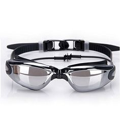 032f911ca4 Generic Adult Antifog UV Protection Adjustable Swimming Goggles with  Siamese Ear Plug Black     Read more at the image link.Note It is affiliate  link to ...