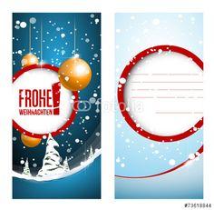 Vektor: frohe weihnachten karte