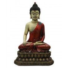 Rustic Design Buddha Statue, 12.5 Inches