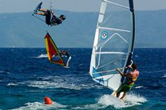 Windsurfing and kitesurfing season in Bol: May - September. A constant, sideshore wind most afternoons throughout the summer.