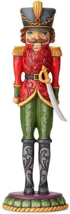 Jim Shore Toy Soldier Nutcracker Figurine