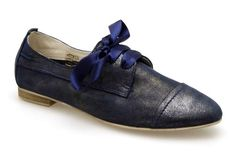 Derby COCO ET ABRICOT V0082C Marine - Chaussures femme