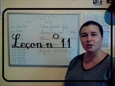 Comment lire vite et bien!!! Leçon N°11.LEARNING FRENCH PRONUNCIATION!