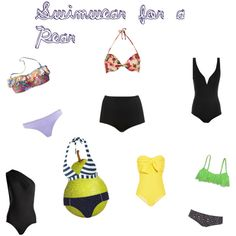 Tips for picking the right Swimwear for Pear shaped women.