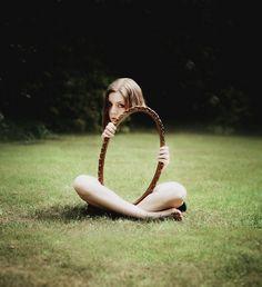 Foto con espejo