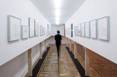 """Cadaval & Solà-Morales, allestimento al Museo Casa de la Moneda nell'ambito della mostra """"Susana Solano Trazos Colgados"""", Madrid 2013"""