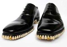 Tooth-Bottomed Brogues - The Apex Predator Shoes by fantich and young Take a Bite of Fashion (GALLERY)