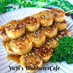 ♡甘辛だれde油揚げロールの串焼き♡ by ♡優雨♡ [クックパッド] 簡単おいしいみんなのレシピが244万品