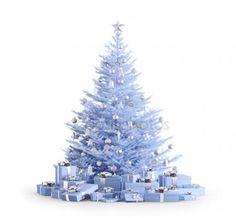 Pobieraj - Niebieska Choinka z prezentów na białym tle render 3d — Obraz stockowy #92218284