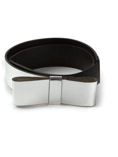 MARNI bow detail belt on Vein - getvein.com