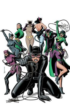 Catwomen by Brian Bolland.