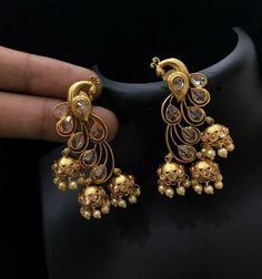 South Indian Jewellery. Contact : 9703870603. Email : nehasjewellery9@gmail.com. South Indian Jewellery, Indian Jewellery Design, Latest Jewellery, Vintage Jewellery, Antique Jewelry, Jewelry Design, India Jewelry, Ethnic Jewelry, Temple Jewellery