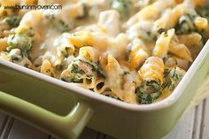 Spinach Artichoke Pasta is perfect for taking to new parents!
