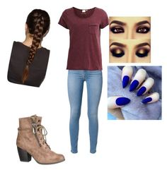 """""""Untitled #145"""" by vlhuerta ❤ liked on Polyvore featuring 7 For All Mankind, Object Collectors Item and maurices"""