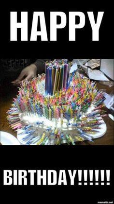 Funny Happy Birthday Wishes, Happy Birthday Friend, Happy Birthday Pictures, Birthday Wishes Quotes, Happy Birthday Greetings, Funny Birthday Cards, Birthday Memes, Card Birthday, Birthday Ideas