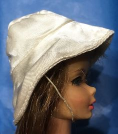 VINTAGE BARBIE FRANCIE Clothes White Satin Hat To Culotte-Wot?Outfit Original  | eBay