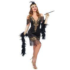 Adult Swanky Flapper Costume