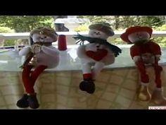 Adornos de navidad. Muñeco de nieve - YouTube