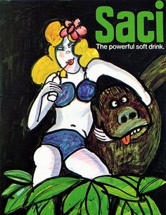 Saci - The powerful soft drink