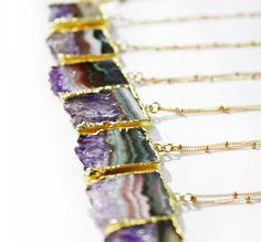raw amethyst | kei jewelry