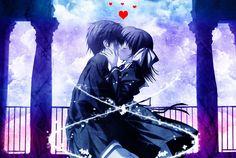 Fondo escritorio Anime Amor