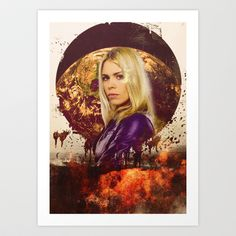 Doctor Who: Rose Tyler Art Print by shewalksinstar-lights - $12.48 Doctor Who Rose Tyler, Doctor Who 9, Tenth Doctor, Sherlolly, Amy Pond, Don't Blink, Bad Wolf, Time Lords, Dr Who