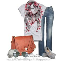 yes, i like every outfit with a scarf.  silver toms! style-the-wishlist