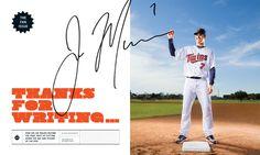 Awesome use of an actual signature  ESPN - Lou Vega