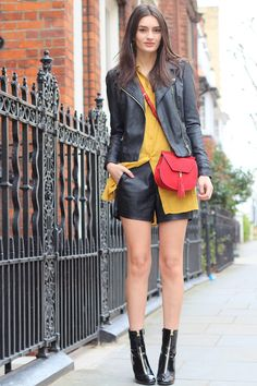 faux leather style
