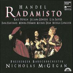 Handel: Radamisto-Freiburger Barockorchester, Nicholas McGegan-harmonia mundi