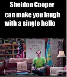 Sheldon Coopers Fun With Flags! Hahaah