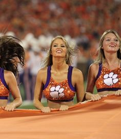 Football Cheerleaders, Cheerleading, 365days, Nfl, You Go Girl, Military Girl, Clemson Tigers, Sport Girl, Pretty Woman