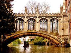 Bridge of Sighs - Cambridge favorite-places-spaces