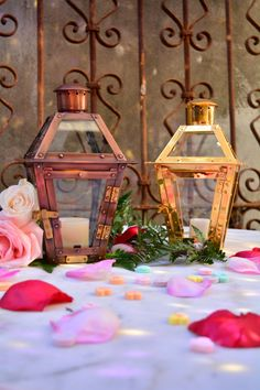 Table Top Lanterns pack a big PUNCH! #bevolo Table Top French Quarter Lanterns.