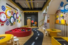 Engineering for Kids – Archid Daycare Design, Kids Daycare, Playroom Design, Kids Room Design, Indoor Playroom, Kids Indoor Playhouse, Kids Indoor Playground, Kindergarten Interior, Kindergarten Design