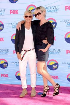 Ellen and Portia: Teen Choice Awards 2012: Best Dressed! on Perez Gallery