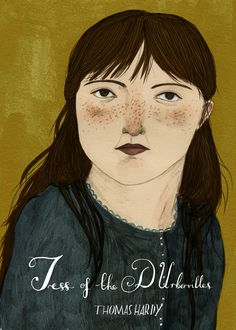 Tess of the D'Urbervilles - Bookcovers - About Today - Illustration by Lizzy Stewart
