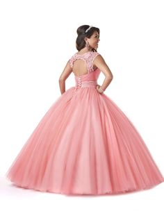 Bloom by Bonny Quinceanera Dress Style 5604 House Of Brides, Quinceanera Dresses, Ball Gowns, Most Beautiful, Bloom, Formal Dresses, Style, Fashion, Ballroom Gowns