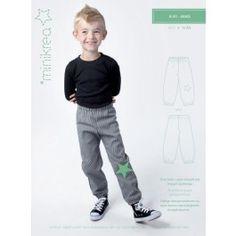 """Hose """"Buks""""   bis 10 Jahre    Tolle Hose in einen etwas schmaleren Schnitt als """"Posebuks"""". Besonders die verschiedenen Varianten sind sehr vielseitig aus unterschiedlichen Stoffen zu nähen.   minikrea"""