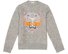To know more about KENZO TIGER SWEATER, visit Sumally, a social network that gathers together all the wanted things in the world! Featuring over other KENZO items too! Kenzo Pullover, Kenzo Sweater, Pull Kenzo, Blusas Top, Winter Outfits, Casual Outfits, Butterfly Bags, Men's Fashion, Urban Fashion