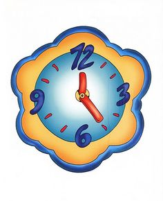reloj As Time Goes By, Whimsical, Clock, Clip Art, Scrapbook, House, Album, Wall, Home Decor