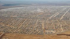 RT @Malcolmite: This is what the Zaatari refugee camps in Jordan looks like today #Syria
