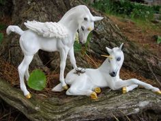 Unicorn and Pegasus foals